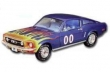 Cooters Ford Mustang CJ428 1968 #00 *Dukes Of Hazard*, blue with flames.