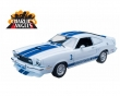 Ford Mustang Cobra II Charlies Angels 1976 white blue